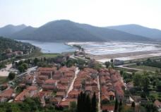 村庄鸟瞰图片
