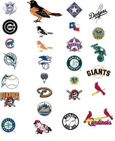 棒球常用LOGO图片
