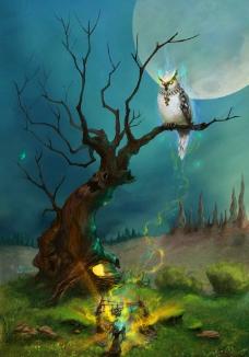树灵守护者图片