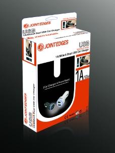 USB车充包装图片