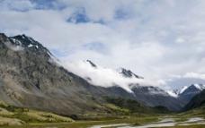 美丽高原雪山摄影图片