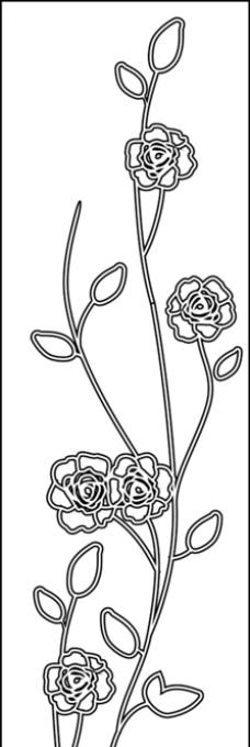 牡丹花图案图片