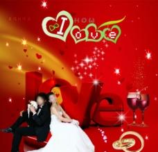 婚礼海报图片