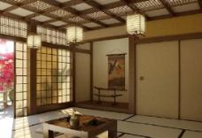 中式休息室模型图片