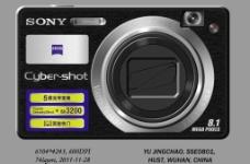SONY相机DSC W150图片