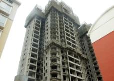 建设中地大楼图片