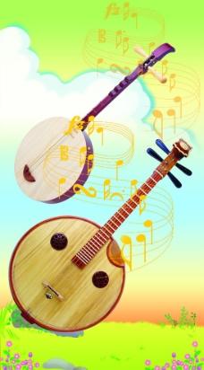 音乐展板图片