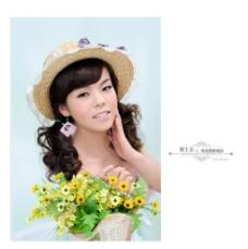 美女 婚纱 写真图片