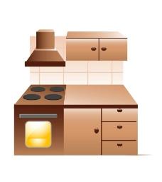 厨房 炉灶图片