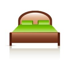 床 双人床图片