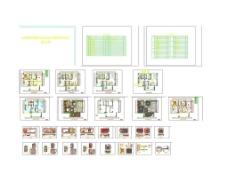 CAD住宅施工图图片