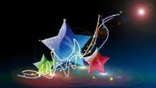 水晶五角星图片