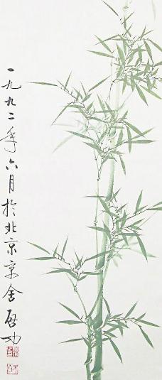 水墨画兰花(非高清)图片_山水风景画_装饰素材_图行