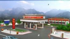 加油站规划设计图片
