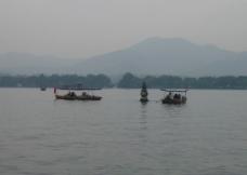 三潭印月 湖心图片