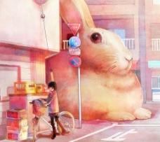 大兔子图片