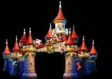 圣诞城堡门头图片