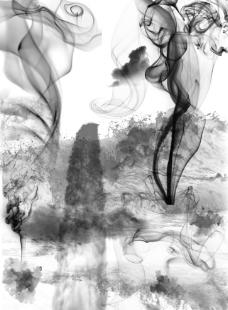 水墨 烟雾图片