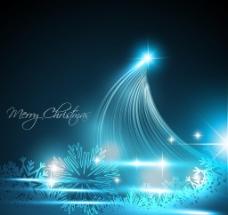 创意蓝色2012新年矢量背景图片