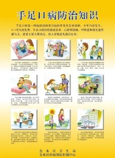 手足口病防治知识图片