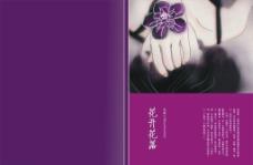 紫色封面图片
