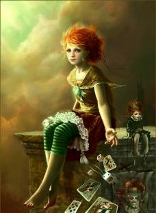 魔幻女孩图片