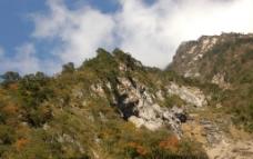 西岭雪山 山峰图片