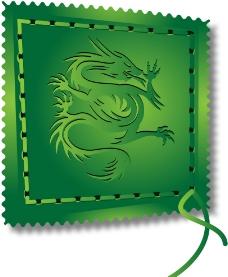 邮票龙图片