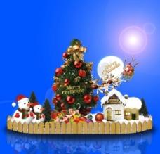 圣诞堆头设计图片