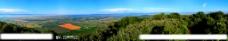盆地全景风光图片