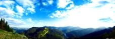 群山全景图片