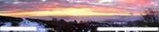 落日全景图片