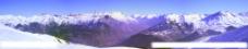 雪山全景图片