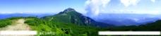 群山全景风光图片