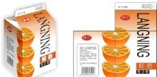 水果橘子橙苹果 包装设计图片