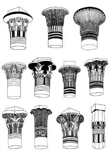 柱头纹样图片
