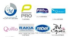 时尚化妆品护理品牌矢量标志图片