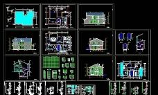 别墅户型施工图图片