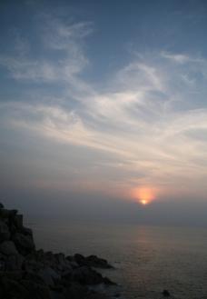 海边日出图片