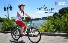 UCC 名牌自行车图片