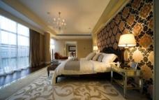 豪华阳光卧室图片