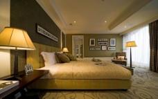 豪华阳光舒适卧室图片