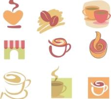 咖啡图标矢量素材图片
