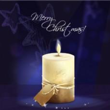 圣诞节蜡烛