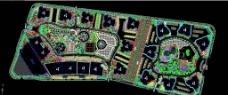 XX小区规划图图片