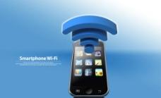 3G智能手机广告图片
